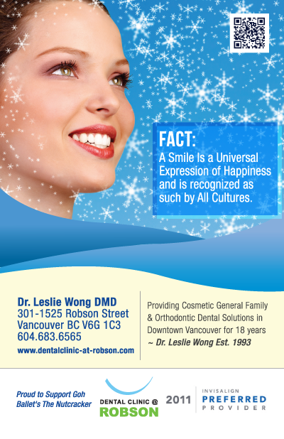 Dental Clinic At Robson Has Been Providing Cosmetic And General Dentistry Solutions In Vancouver Downtown Area For Over 18 Years I Created This Ad The